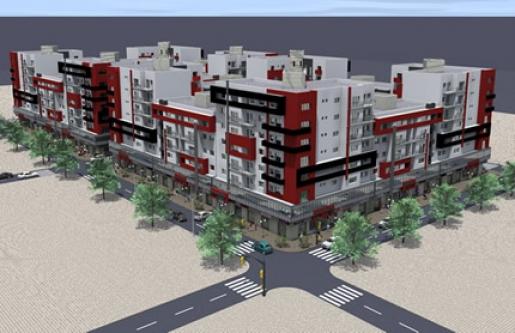 208 logts - URBANIA buildings